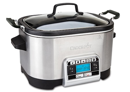 Multifunktionell Slow Cooker 5,6 liter