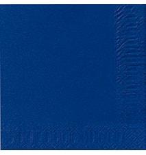 Servietter 24 cm 3-Lag Mørkeblå