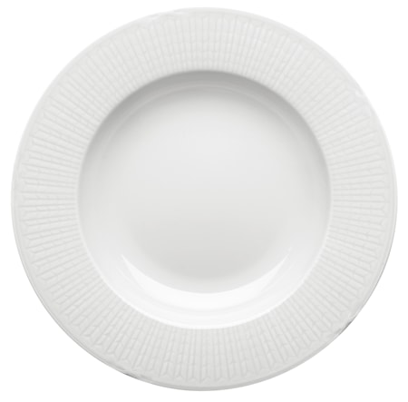 Swedish grace, snö Tallrik djup 25 cm