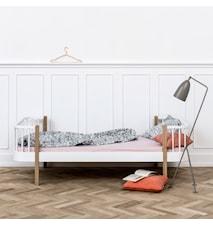 Wood säng