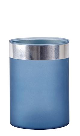 Bild av KJ Collection Vas Glas Silver 18 cm