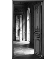 Maison Martin Margiela Trompe l'oeil Door print - typiskt öppen