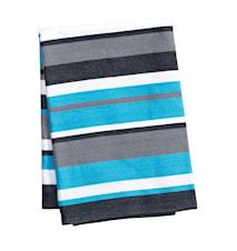 Håndduk Turkis/Stripete 70x50 cm