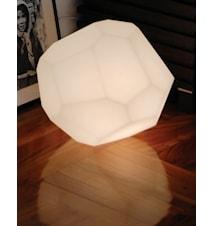 Asteroid bordslampa - Plast