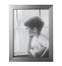 Tavelram Silver Slät 24x18 cm