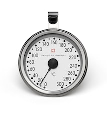 Uunimittari, 0-300°C Ruostumaton