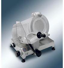Pålægsmaskine med 27,5 cm klinge og indbygget sliber