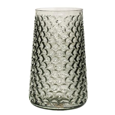 Bild av Bloomingville Vas Glas Grå 18,5x30,5 cm