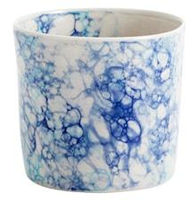 Mugg Deco Ø 8 cm - Blå