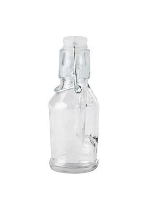 Flaska med lock Glas 13 cm 6 cl