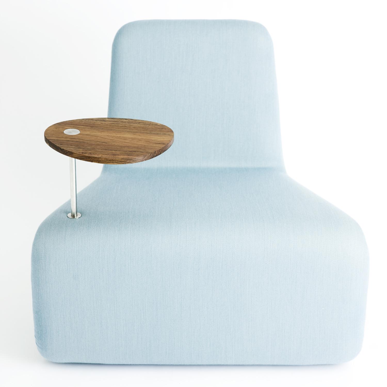 Urban lounge fåtölj – med bord