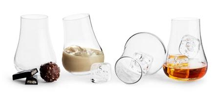 Club Avec glas med rundad botten, 4-pack