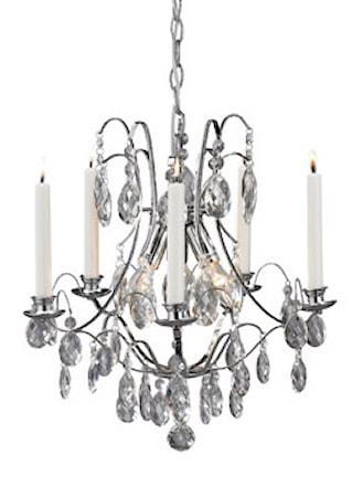 Bild av Markslöjd Trolleholm Lampa 3 Ljus Krom