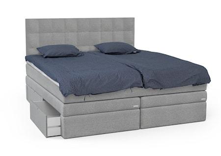 Opal säng med förvaring + sänggavel