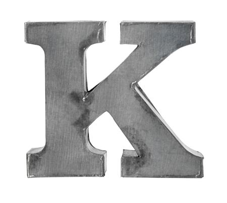 Madam Stoltz Kirjain K 5,5 cm – Sinkki