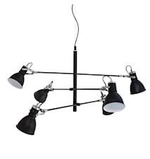 Pigalle taklampa 6-låg