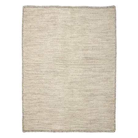 Plain matta – Ivory/Grå
