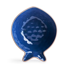 Fish serveringsskål blå, liten