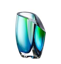 Mirage Grön/Blå Vas 15,5 cm