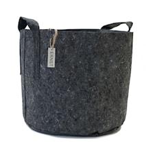 Odlings/förv.säck d35 h30 cm grå