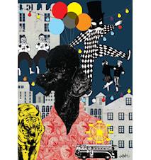 Elliot lejon poster 50x70
