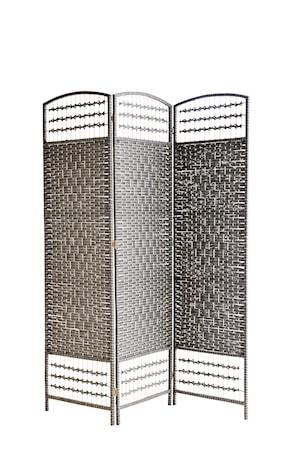Rumsavdelare 150x180 cm - Mörgrå