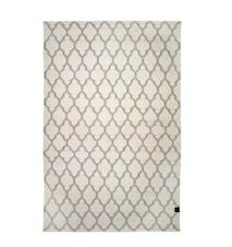 Trellis matta vit/grå