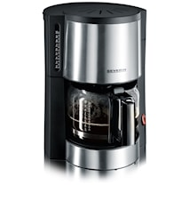 Kaffebryggare Svart-Rostfri