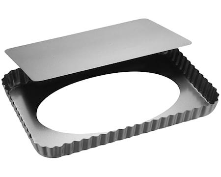 Patisse Silvertop Piirakkavuoka hopea 32×22 cm