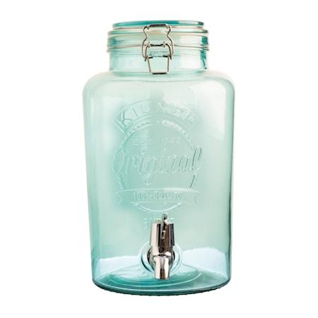 Tappkran behållare Medium Blå