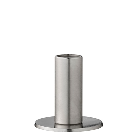 Bild av Bloomingville Ljusstake Silver Metall 7x7cm