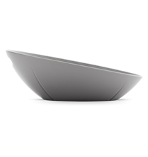 GC Brödkorg, dimgrå, melamin, inkl. duk, dimgrå