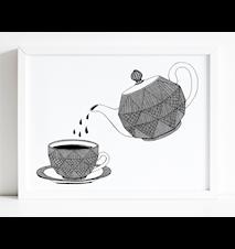 Kaffekanna poster