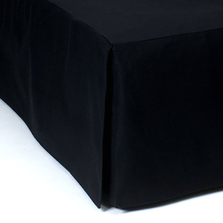 Mille Notti Napoli sängkappa Svart - 105x220x52