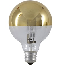 Halogen Mirror Globe Gold 125mm 18W(25W