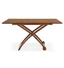 Mascotte multifunktionellt bord – Valnöt, 7 höjdval