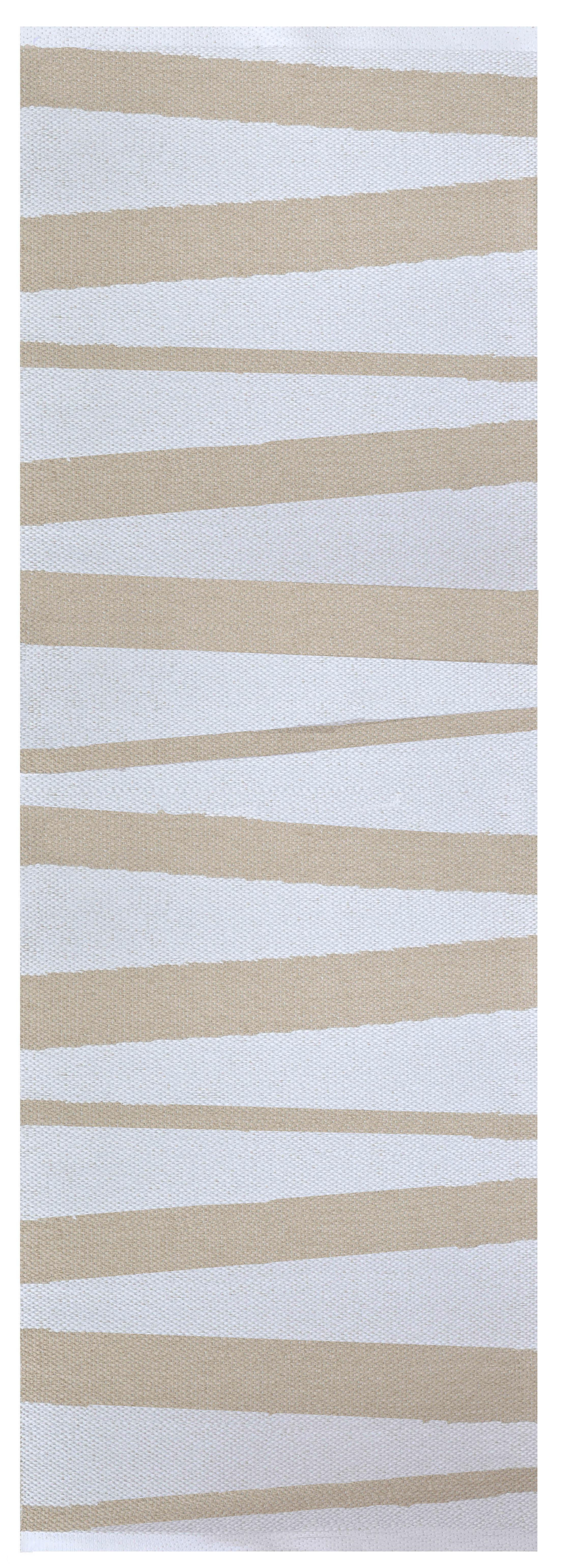 Åre Beige/vit matta 2 m
