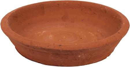 Fat till terrakottakruka, Ø 25 x H 4,5 cm