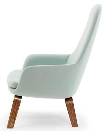 Era Lounge Chair High Valnöt