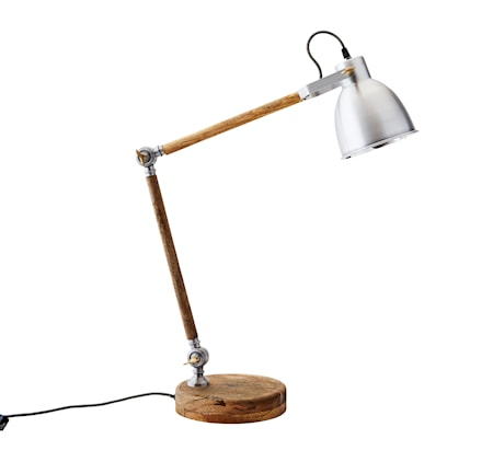 Table lamp wood bordslampa