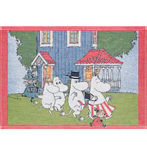 MOOMIN HOUSE Tablett 35X48 CM