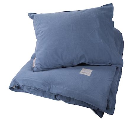 Bäddset Ernst 150x210/50x60, blå