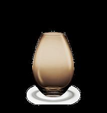 Cocoon Vase, brun, H 20,5 cm