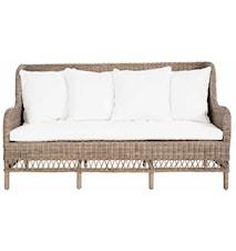 Dyna till Estelle 3-sits soffa - Natur