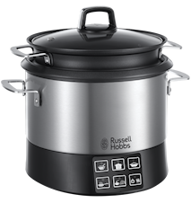 All in One Cookpot, Riskokare med Multifunktion