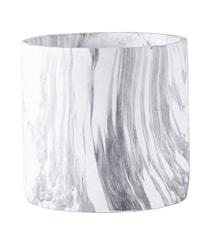 Kruka Cement/Marmor 16x15,5 cm