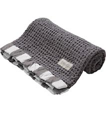 Handduk våfflad 47x70 cm, grå