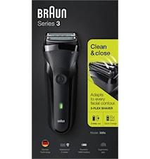 Braun Barberingsmaskin 300s Black