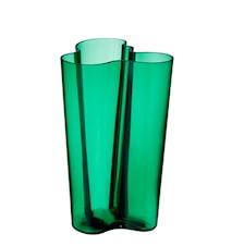 Aalto maljakko 251mm smaragdi