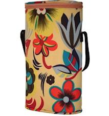 Duo flower- Isolerad väska för två flaskor